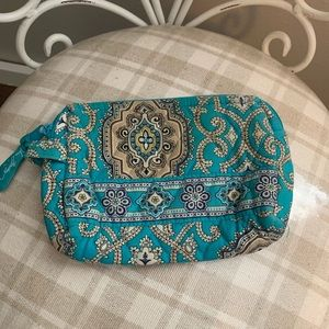 "VERA BRADLEY small pouch | | ""totally turq"""
